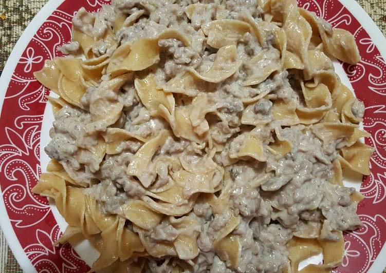 Recipe of Ultimate Beef Stroganoff