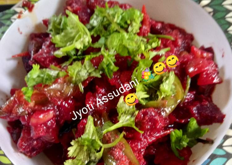 Simple Way to Make Favorite Beet Root Mix Veg Curry