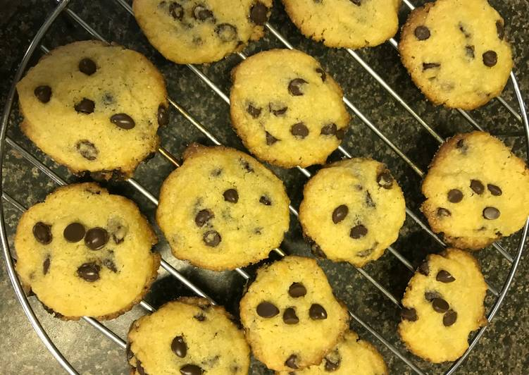 Recipe of Ultimate Chewy Chocochips Cookies
