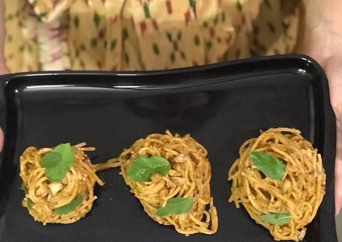 Recipe: Tasty Pasta in creamy tandoori sauce