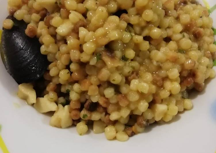 How to Make Appetizing Fregola al profumo di mare