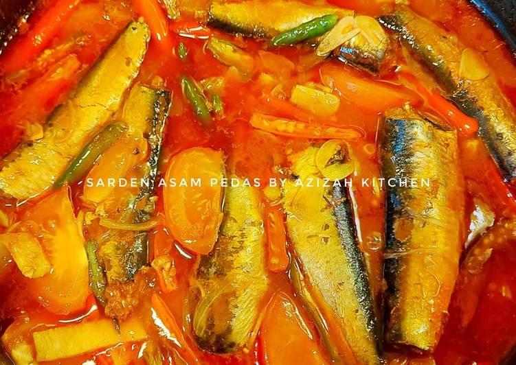 Sarden asam pedas by azizah kitchen