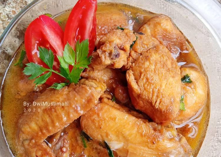 Semur Ayam Kuah