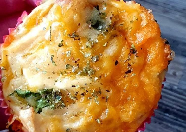 Hähnchen-Käse-Muffins