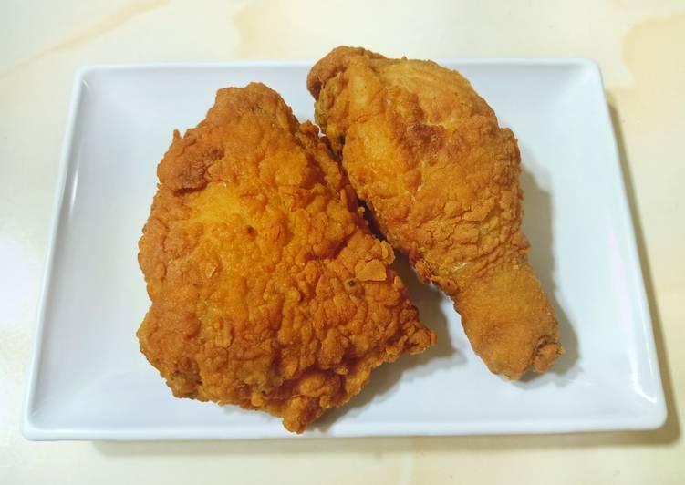 58. Ayam KFC bumbu instan