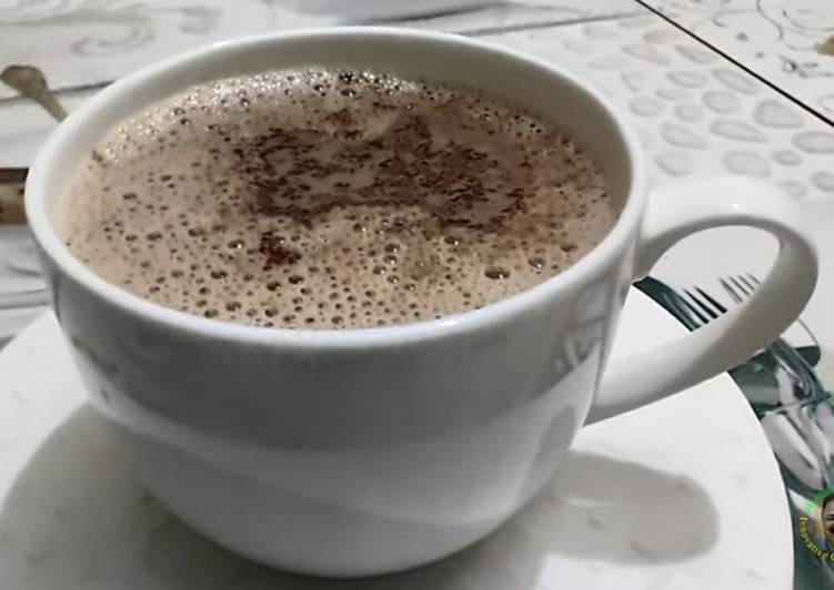 Hot Chocolate Coffee with Cocoa