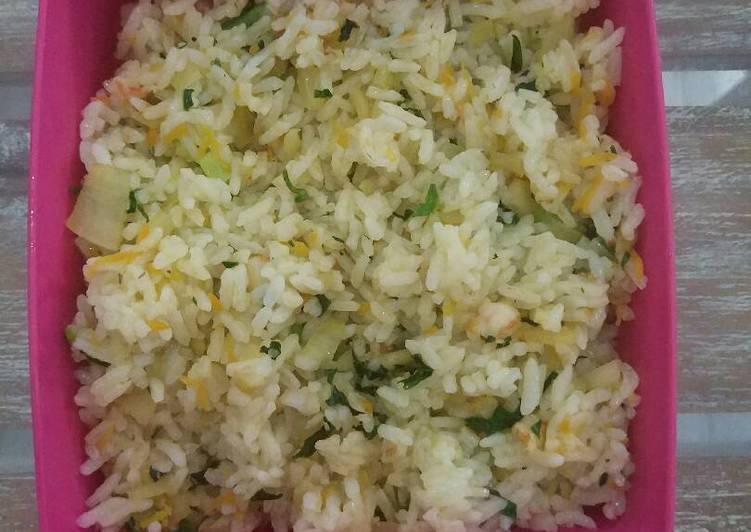 Resep Nasi goreng sayuran untuk anak 12m+ Bikin Laper