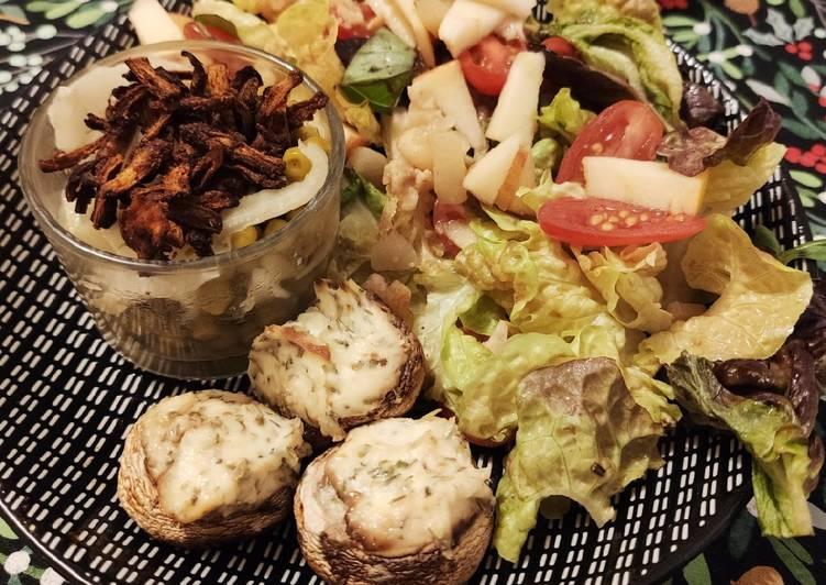 Assiette végétarienne équilibrée et rapide !