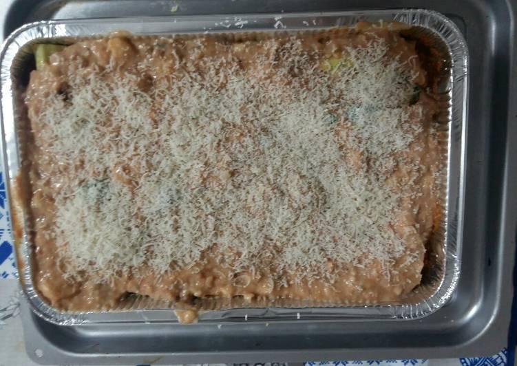 Cannelloni ripieni ricotta e spinaci