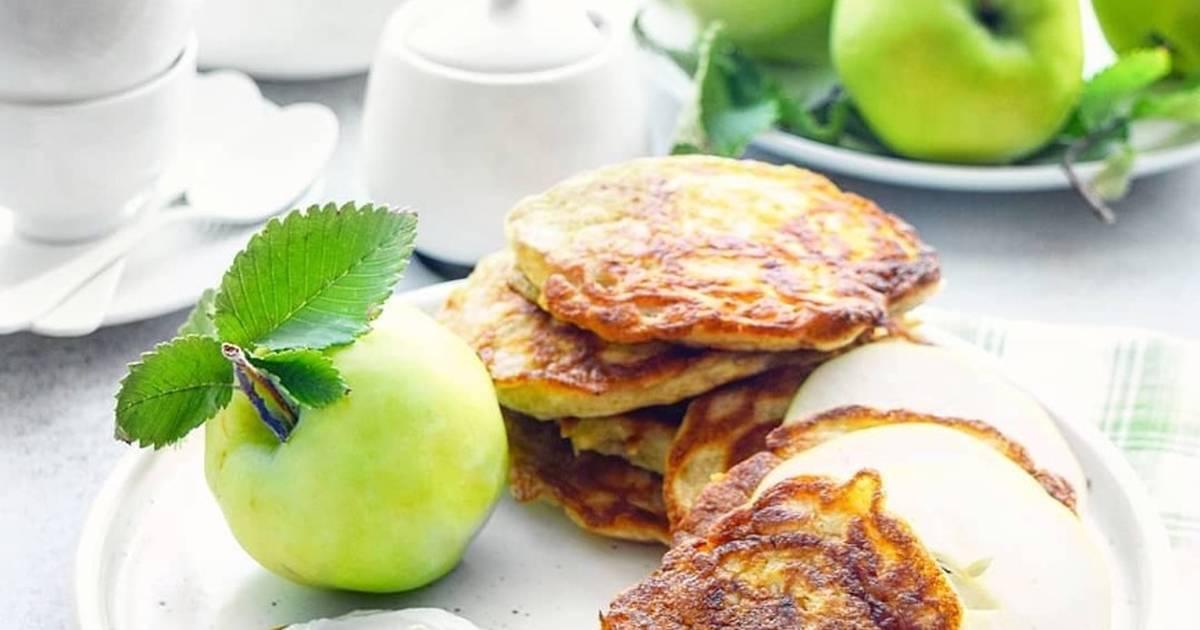 последний оладьи из яблок рецепт с фото примере фото