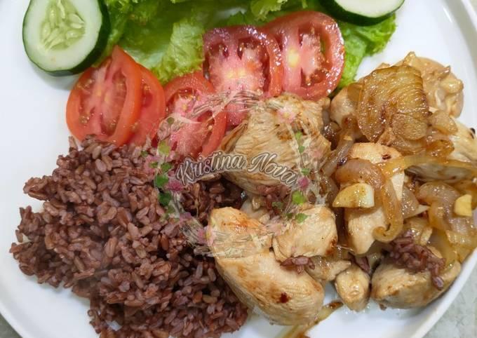 Ayam Lada Hitam (DIET/Clean Eat)