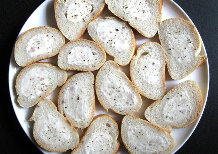 Tuna & Cream Cheese Dip Stuffed Baguette