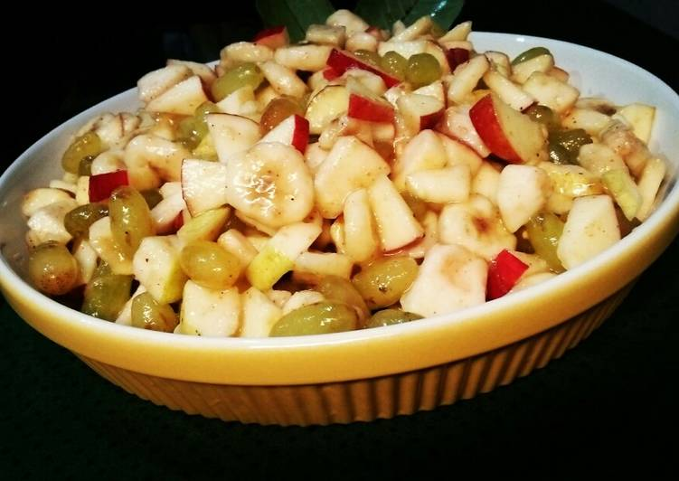 Fruit Chaat🍎🍌🍋🍇🍐