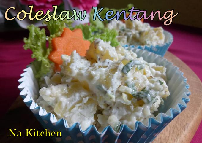 Coleslaw Kentang (Maraton Raya) #kentang #minggu 1