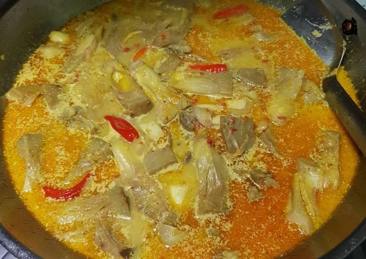 Resep Sayur tewel (gori) Yang Gampang Dijamin Sedap