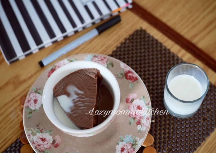 Puding susu ala kfc