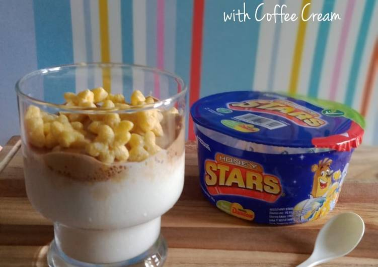 Resep Cereal Star Milkshake With Coffee Cream Oleh Windri Aries Cookpad