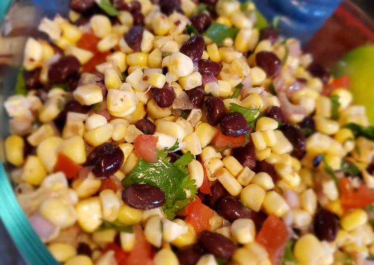 How to Make Perfect Corn and Black bean salsa