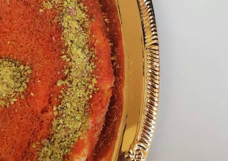 Kunafa turkish sweet