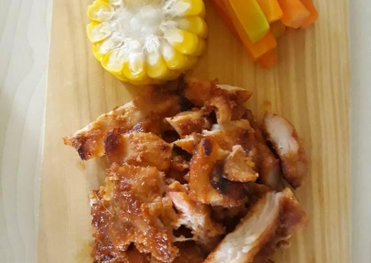 Ayam Bakar Manis (Teflon)