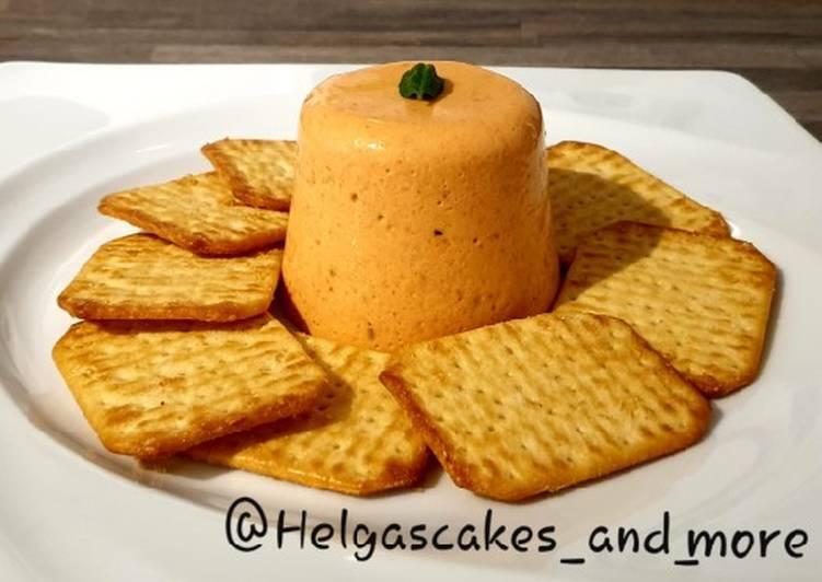Geröstete Paprika-Mousse