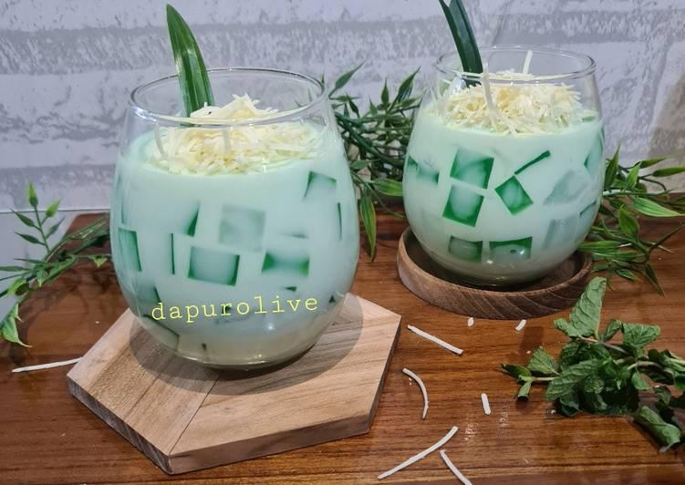 Resep Buko Pandan Dessert yang sederhana