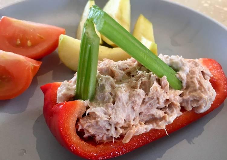 How to Make Favorite Tuna Boats - Kids Food Ideas