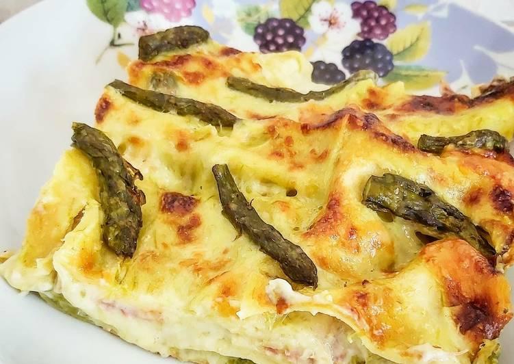 Recipe: Perfect Lasagne agli asparagi