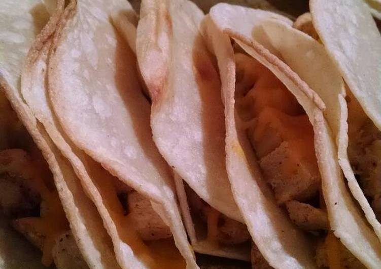 Vegetarian Chicken Tacos