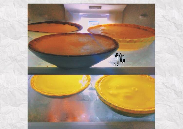 Resep Egg Tart(Kue Lontar) Paling dicari