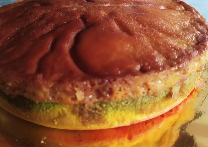 Puding karamel kek mable
