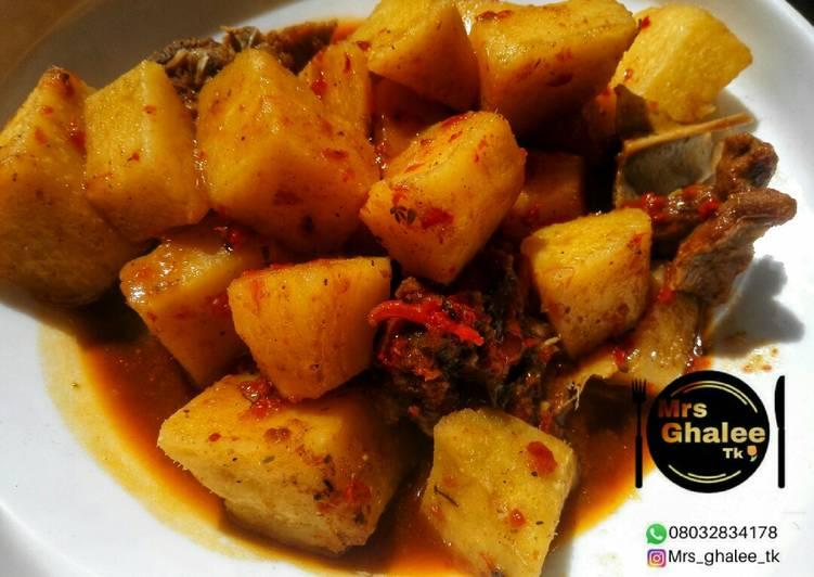 Recipe of Homemade Yam pottage