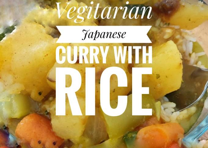 Easiest Way to Prepare Tasty Vegitarian Japanese Curry Bowl with Rice 🍛