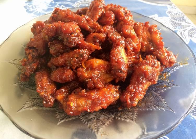 Yangyeom Chicken (Spicy Korean Fried Chicken)
