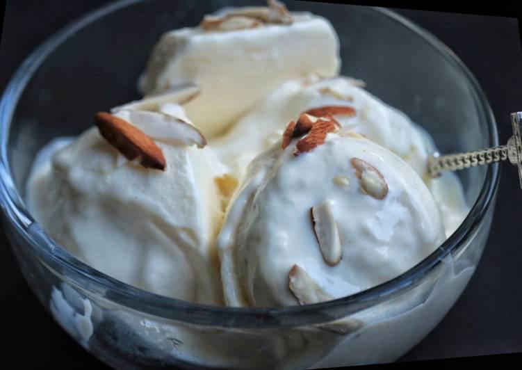 How to Make Perfect Vanilla Yogurt Ice-cream