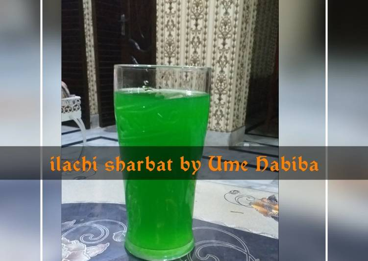 Step-by-Step Guide to Make Homemade Ilaichi sharbat