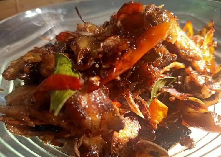 Langkah Mudah untuk Membuat Ayam (sisa) pedas manis yang praktis