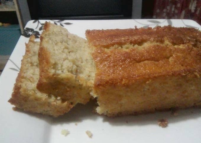 Banana Oatmeal Bread with Pancake Mix