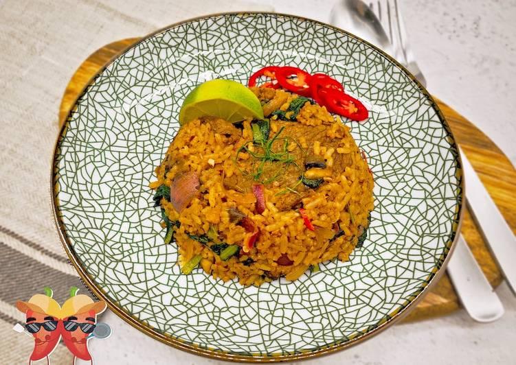 🌶️ Teddy's Tom Yum Fried Rice