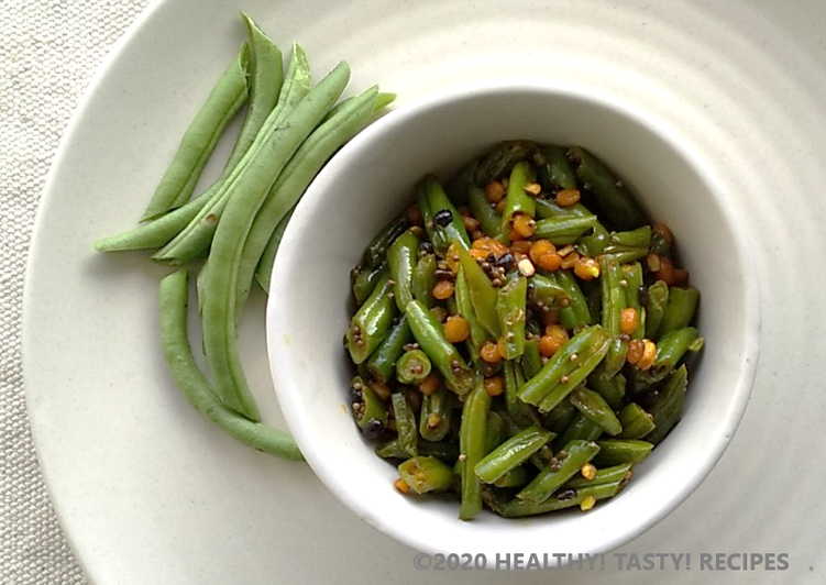 Step-by-Step Guide to Prepare Any-night-of-the-week French Bean Stir Fry