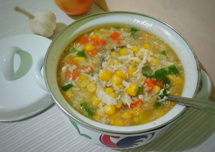 Resep Sup Rajungan Jagung Wortel Oleh Irma Rays Cookpad