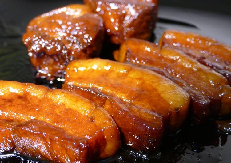 Recipe of Quick 【Pork Belly】made by Rice Cooker !