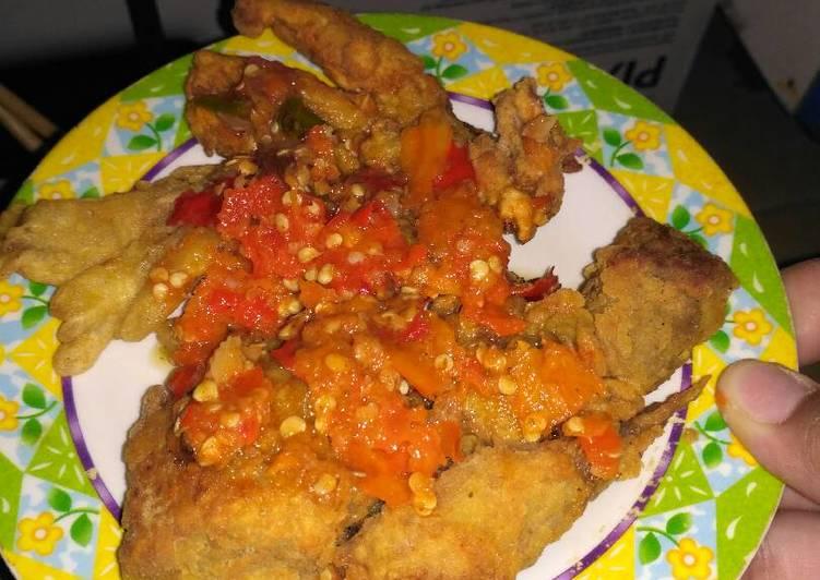 Ayam geprek yummy