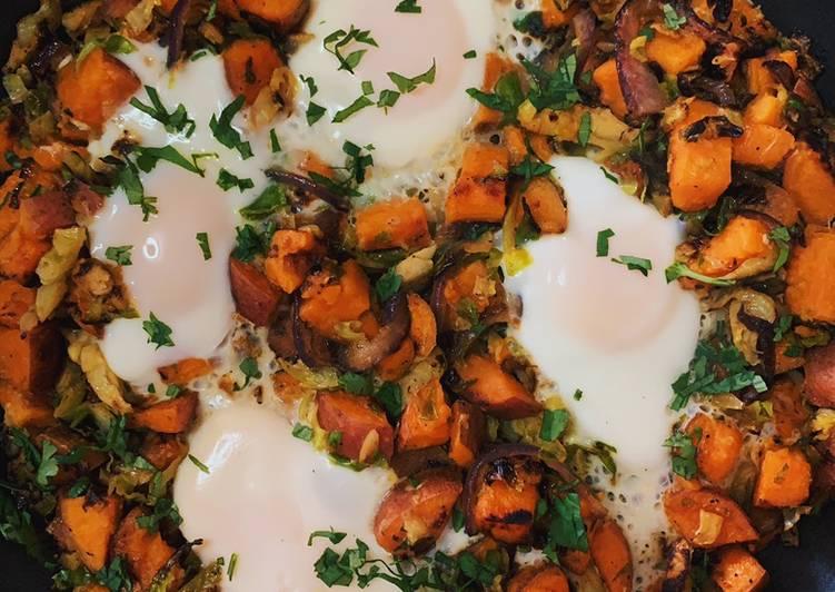 Easiest Way to Make Most Popular Sweet Potato Hash