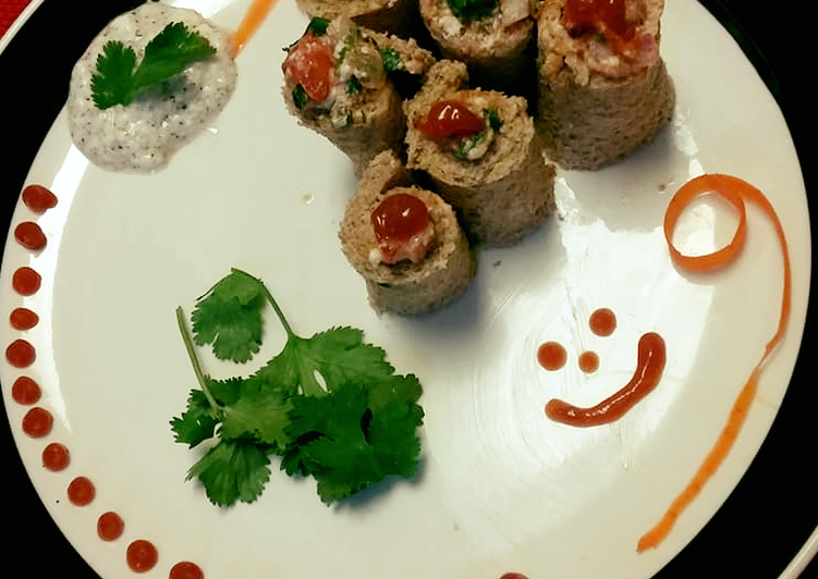 Recipe: Delicious Bread Sushi