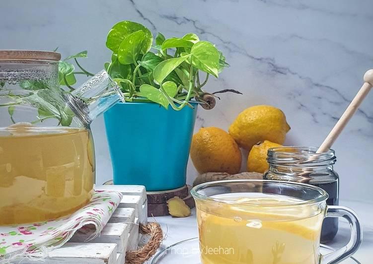 Lemon Honey Ginger - resepipouler.com