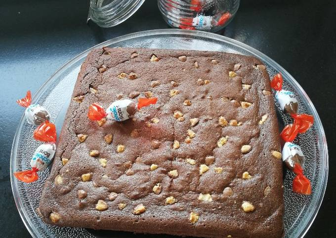 "Brownie ""light"" aux chocobons"