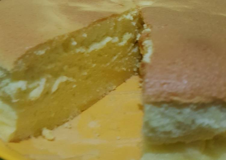 (Salin dari) Japanese cheesecake