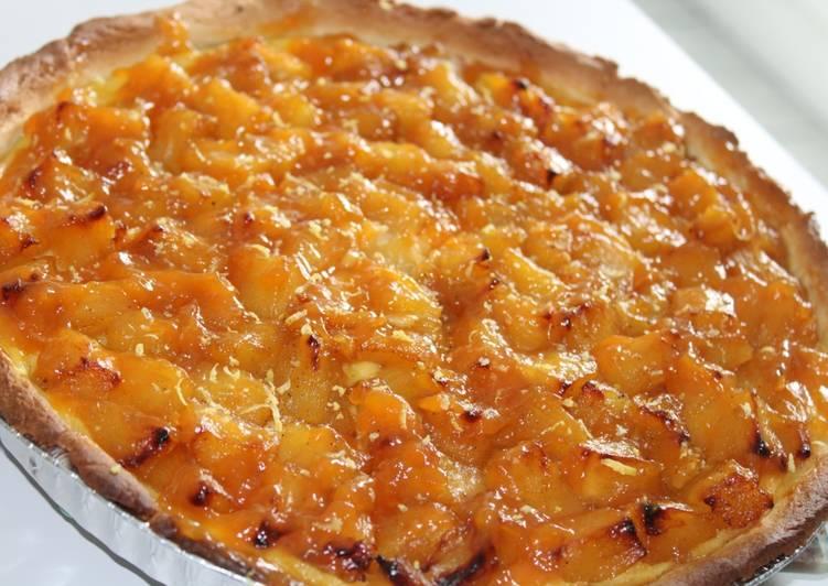 Tarte ananas caramélisé