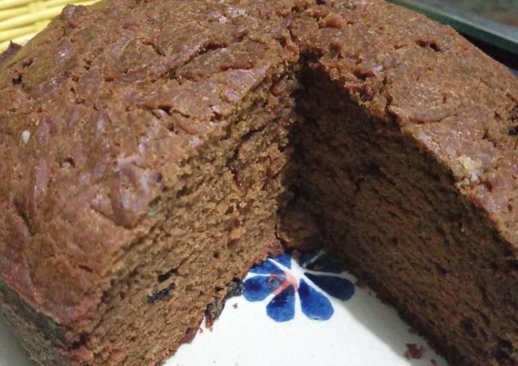Yummy Chocolate Fruit Cake